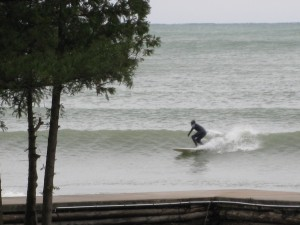 SURF'S UP AT GLIDDEN LODGE BEACH RESORT!!!