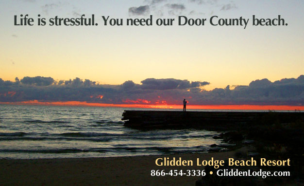 Each morning at the Glidden Lodge Beach Resort comes with a complimentary sunrise!