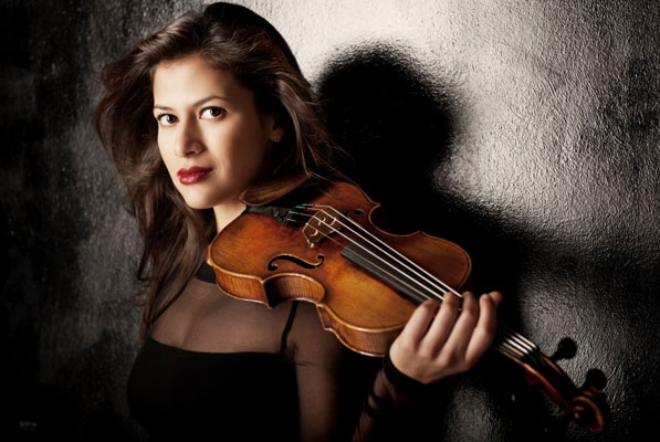 Elena Urioste, violin. Phone from MusicFestival.com
